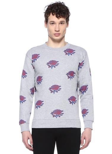 Obey Sweatshirt Gri